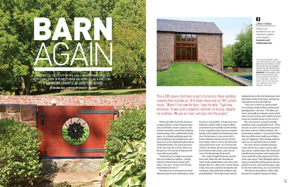Barn Again by Megan Hillman