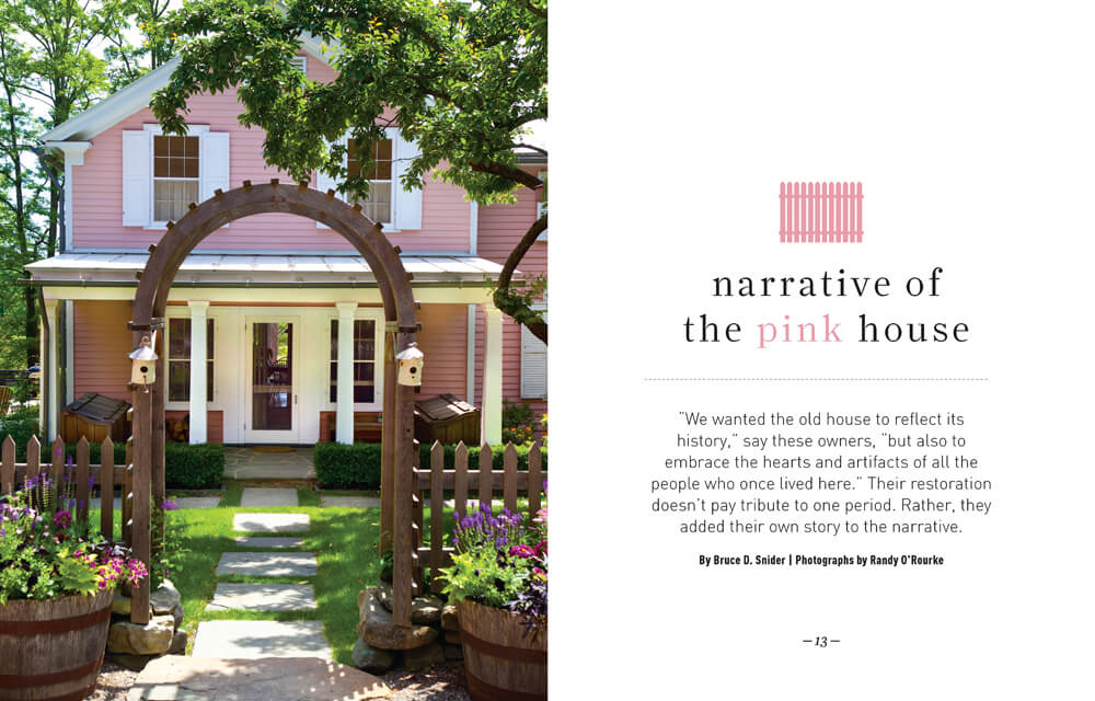 The Narrative of the Pink House by Megan Hillman