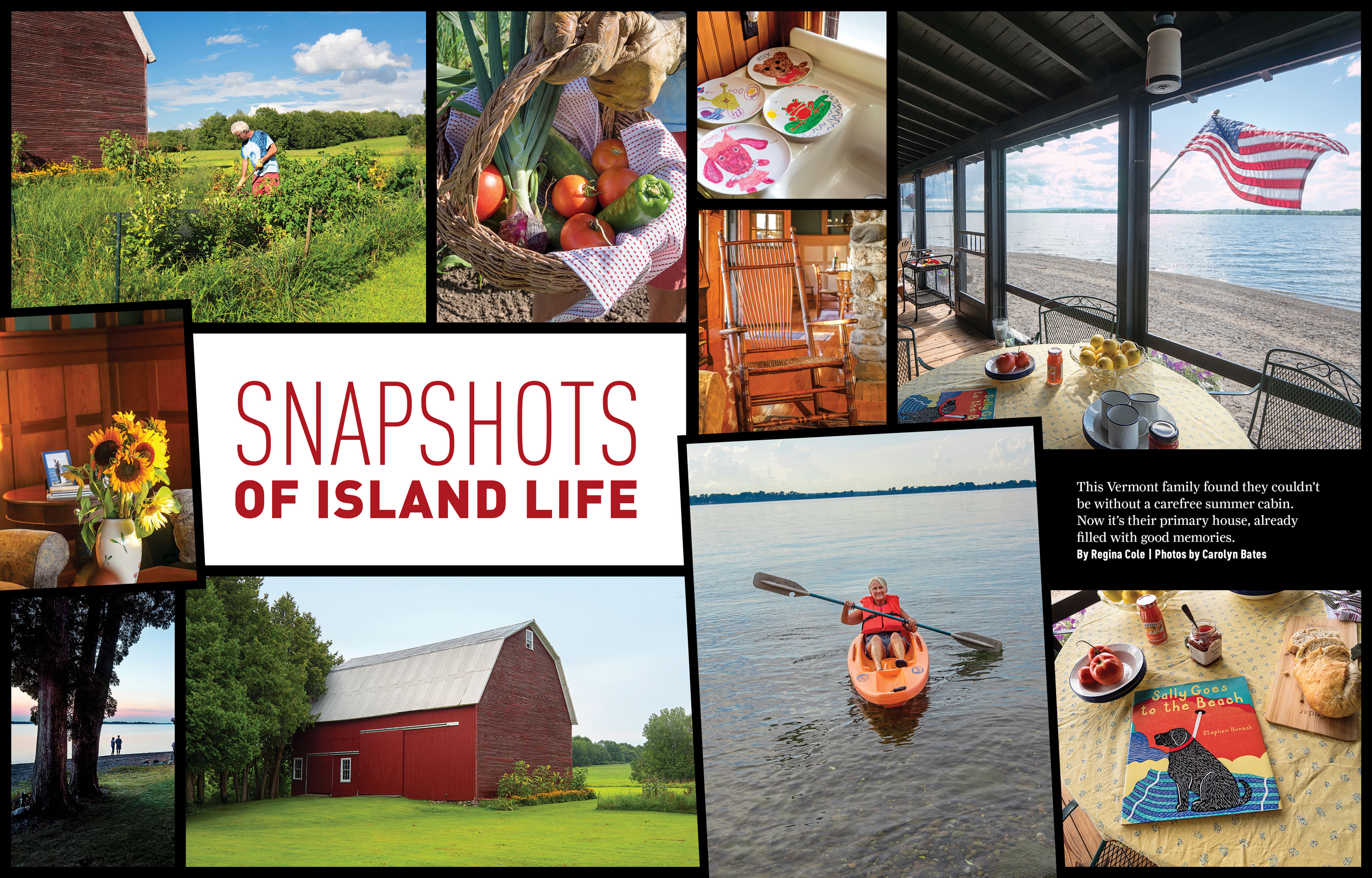 Snapshots of Island Life by Megan Hillman