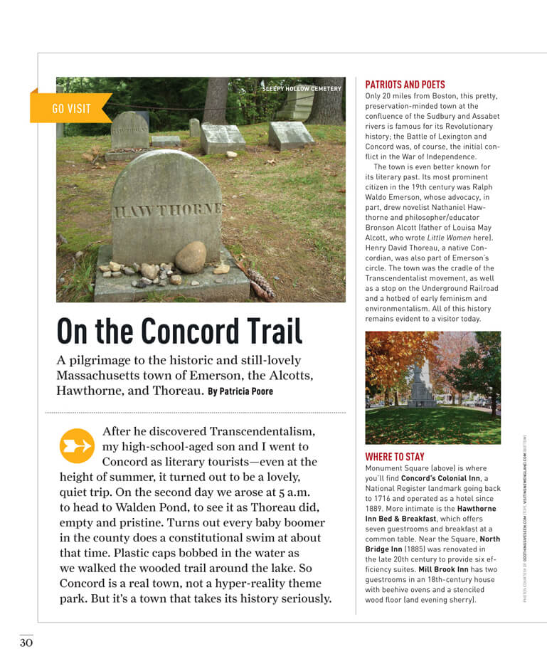 On the Concord Trail by Megan Hillman