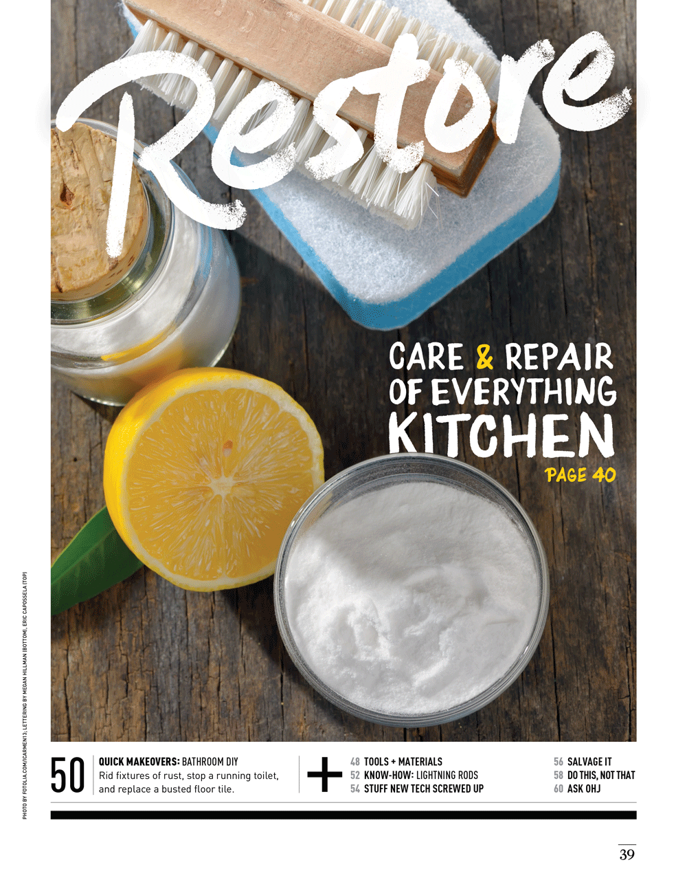 Kitchen Care & Repair by Megan Hillman