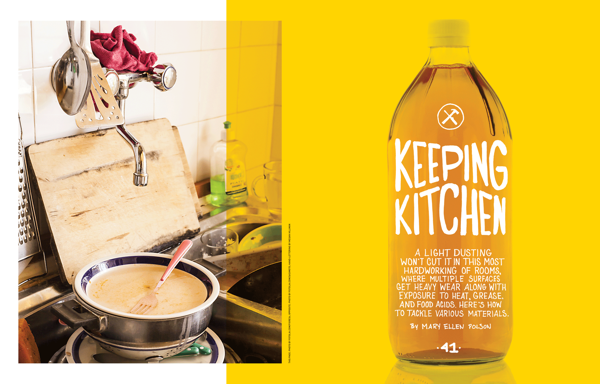 Keeping Kitchen by Megan Hillman