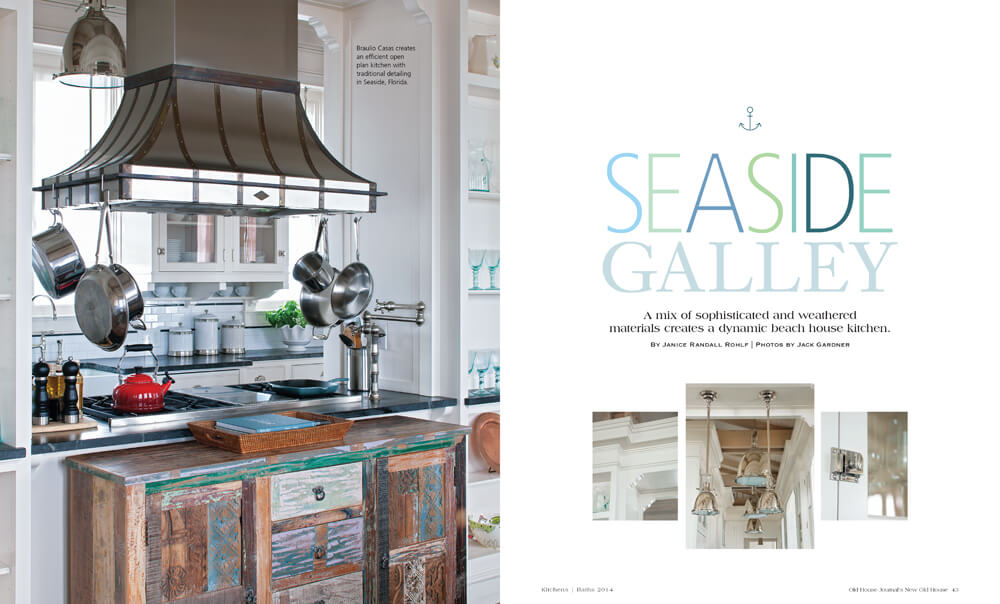 Seaside Galley by Megan Hillman