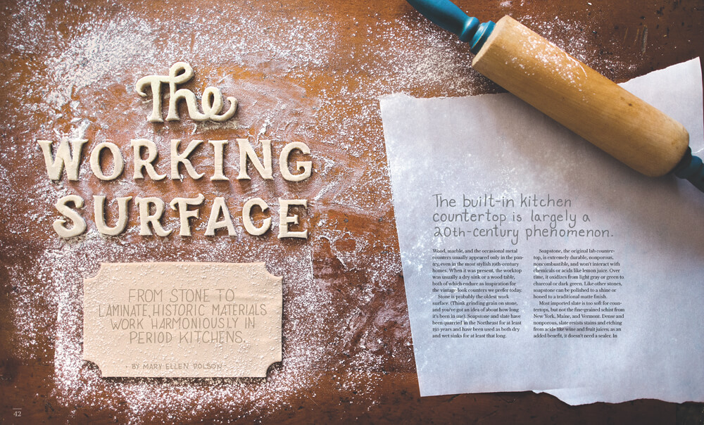 The Working Surface by Megan Hillman