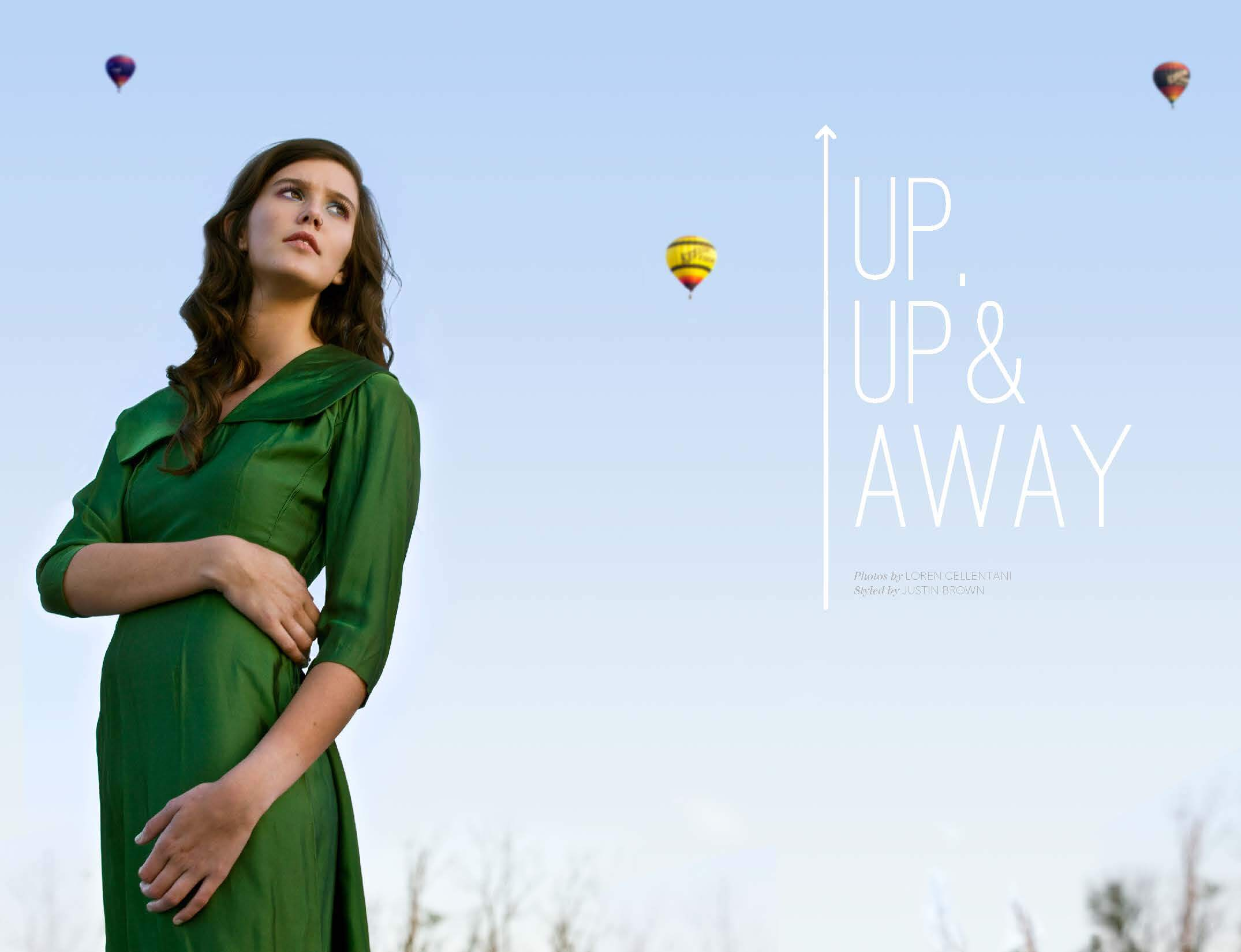 Up, Up & Away by Megan Hillman